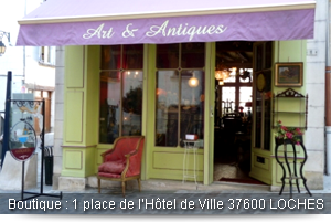 Photo de notre boutique à Loches