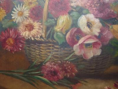 Peinture acrylique mon bouquet de fleurs a l picture - Photos bouquets de fleurs ...