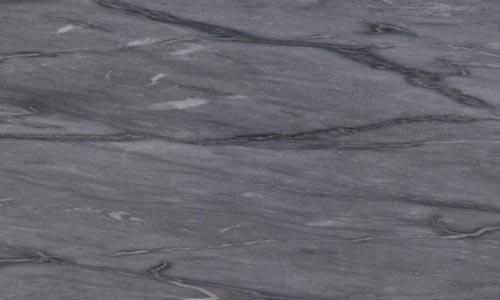 Détail du marbre bleu turquin