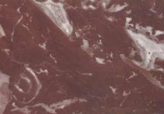 Détail du marbre Rouge Belge