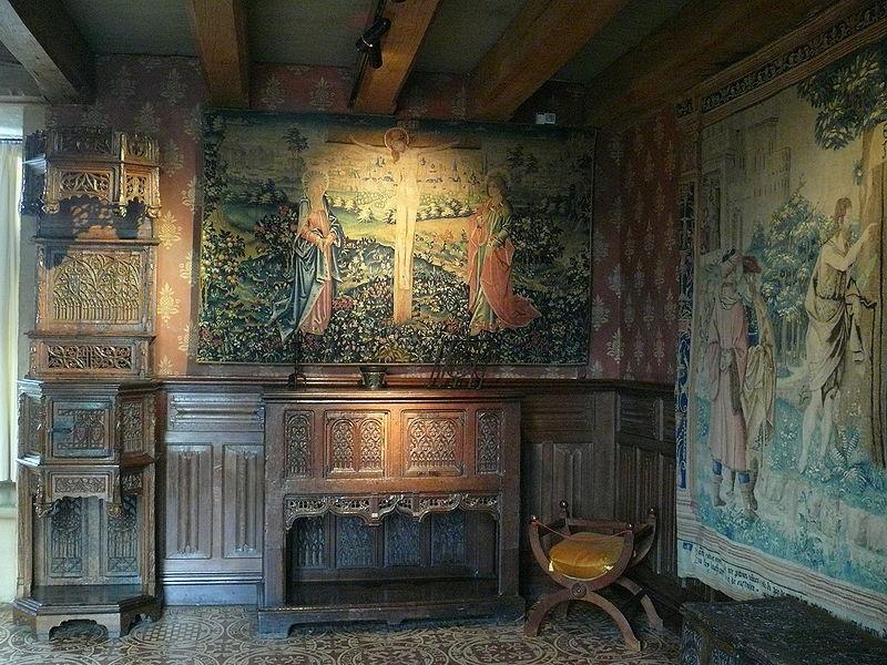 Chambre du Château de Langeais