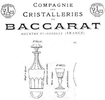 Carafe Charles X, Bacarat