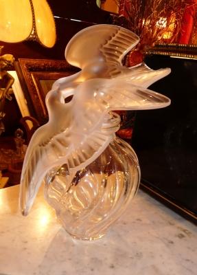 Flacon Lalique L'air du Temps
